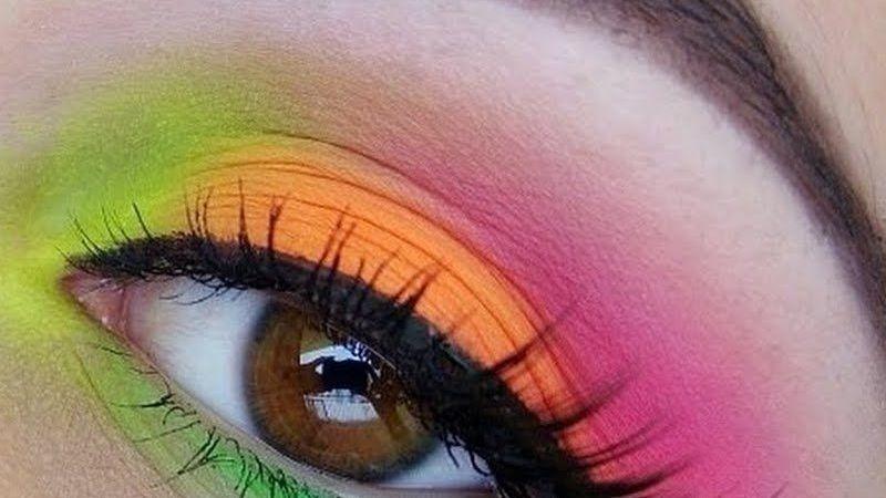 Resalta tu mirada: Descubre los colores neón perfectos para un maquillaje de ojos