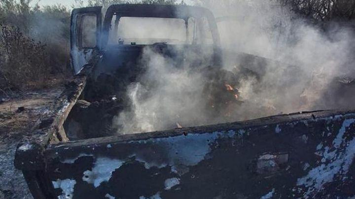 Identifican a otros nueve de los 19 cadáveres calcinados en Camargo, Tamaulipas