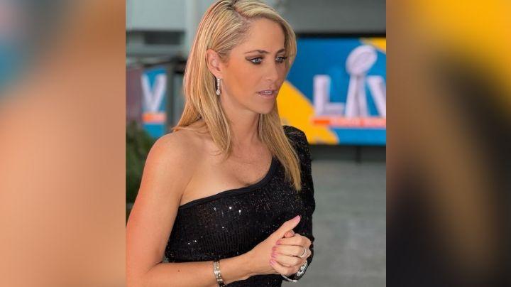 Inés Sainz, conductora de TV Azteca, habla de la importancia del Super Bowl en la socidad