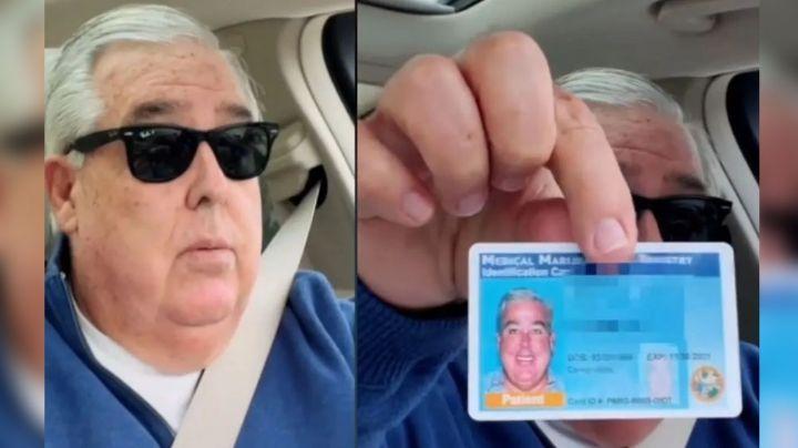 Abogado se expone a sí mismo al mostrar su permiso de marihuana en lugar de la licencia