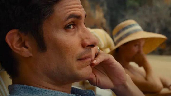 Gael García sorprende al aparecer en el Super Bowl para promocionar su nueva película