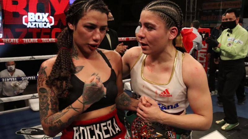 Alejandra 'Rockera' Guzmán estuvo a segundos de hacer historia... Yamileth Mercado retiene el título