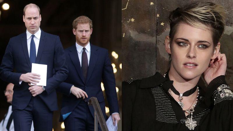 Príncipes William y Harry contra Kristen Stewart: Estarían molestos por actuación de Lady Di