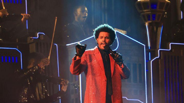 Con cientos de rubíes y más de 200 horas de trabajo, The Weeknd deslumbra el Super Bowl