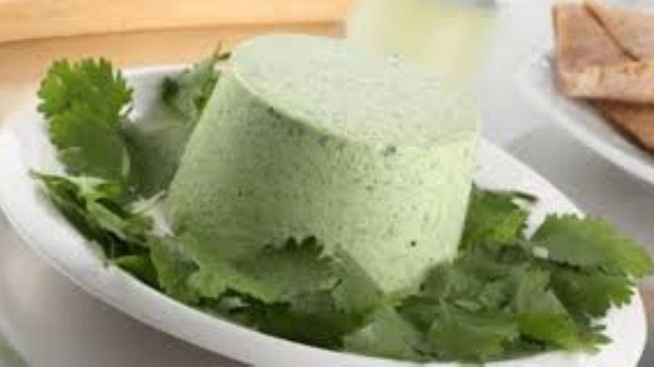 ¿Un postre de cilantro? Alegra tu paladar con el rico sabor de este sencillo mousse