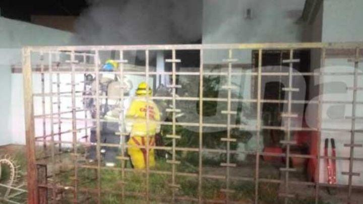 Cajeme: Vecino de la colonia Villas del Náinari muere calcinado en incendio