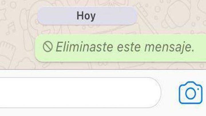 ¡Detente! Por esta razón no debes de eliminar mensajes enviados en WhatsApp