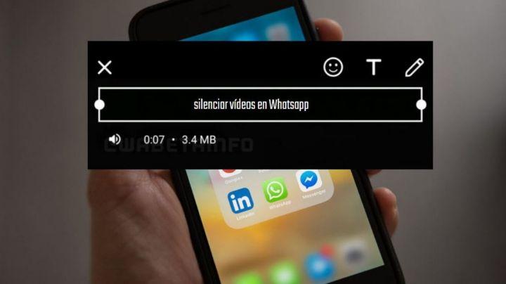 Descubre este truco de WhatsApp que ayuda a silenciar los videos antes de enviarlos