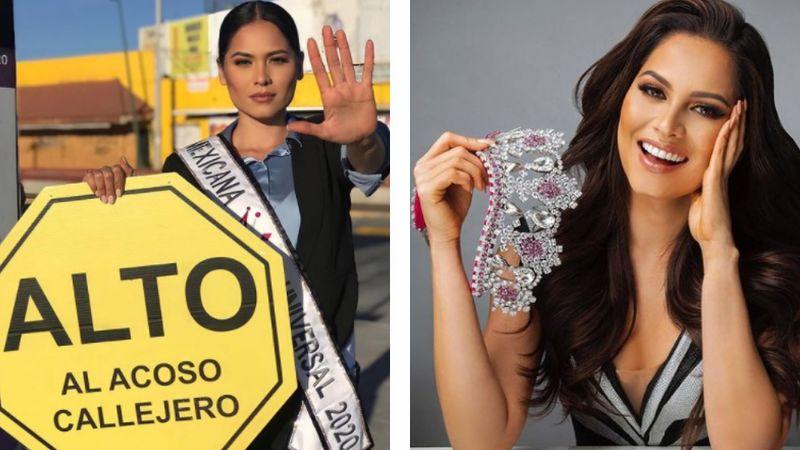 Andrea Meza, Mexicana Universal, denuncia robo y acoso en calles de Guadalajara
