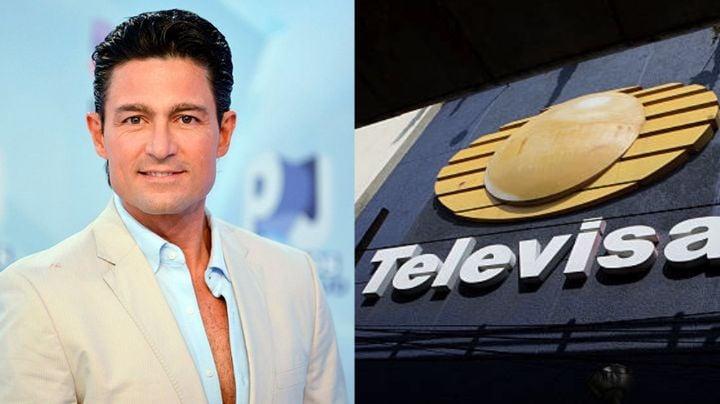 Tras salir del clóset, exactor de Televisa expone de esta manera a Fernando Colunga