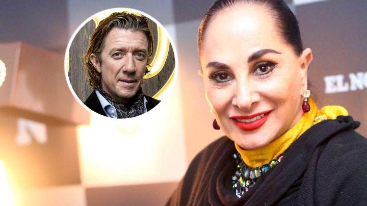 VIDEO: Susana Dosamantes envía fuerte recadito a su exyerno, Colate, por hablar de Paulina Rubio