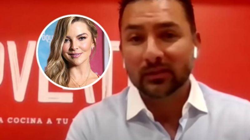 VIDEO: Novio de Marjorie de Sousa espera que el hijo de la actriz con Julián Gil le diga 'papá'
