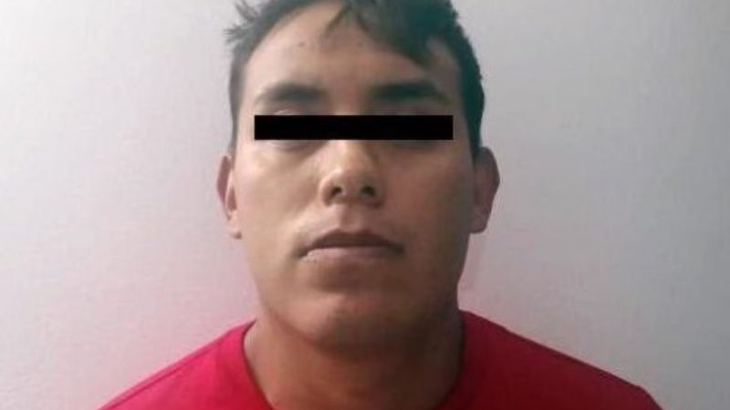 Capturan al 'Charal', presunto miembro de banda delictiva que opera en Edomex