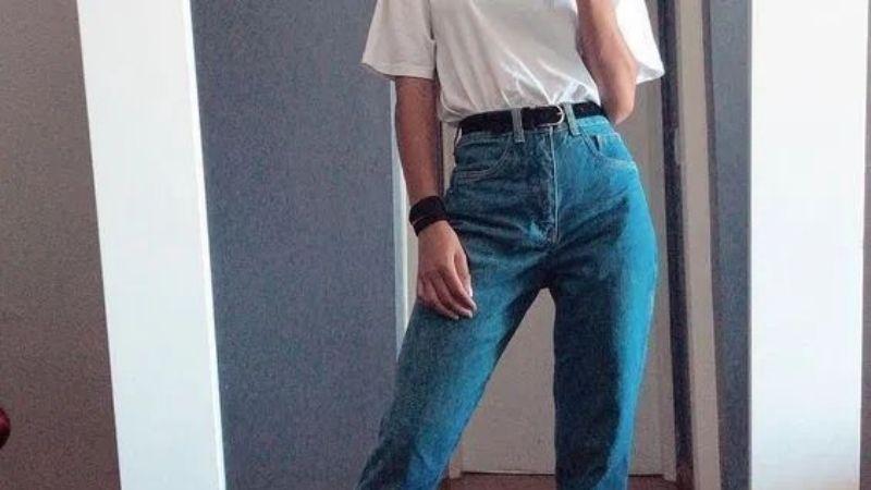 ¡De impacto! Los 'mom jeans' serán los pantalones de moda para las bajitas este 2021