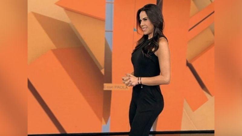 """Paola Rojas luce espectacular vestido rojo en Televisa y derrite a Instagram: """"Estás perfecta"""""""