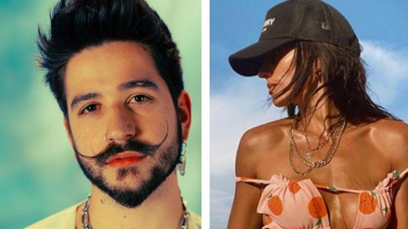 """¡Tómala Evaluna! Bárbara de Regil luce 'outfit' playero y Camilo reacciona: """"Pura inspiración"""""""
