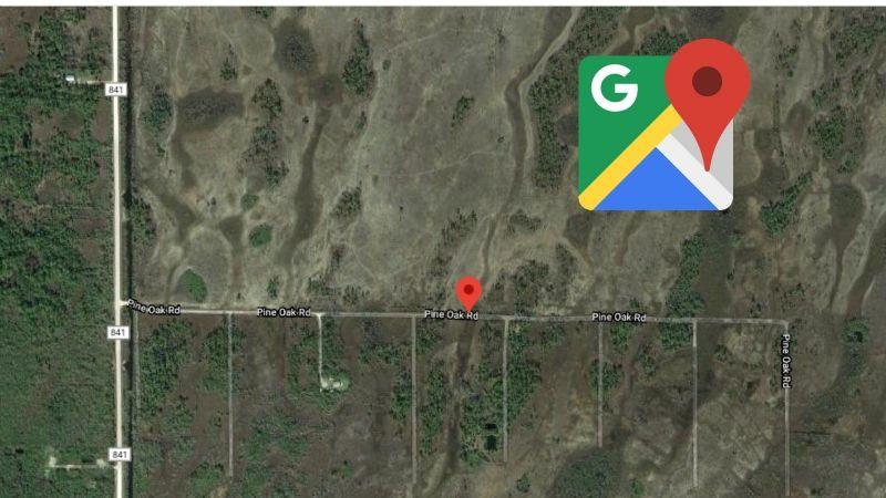 ¿Un OVNI captado en Google Maps? La historia detrás de la foto que se viraliza en Internet