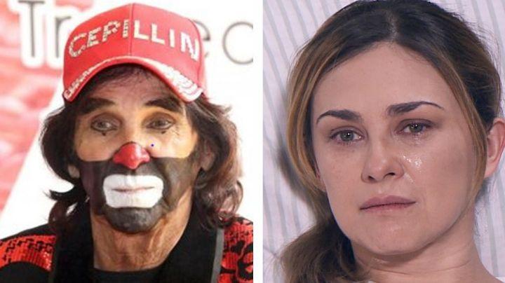 """Dolida y triste"": Destrozada, Aracely Arámbula da emotiva despedida a Cepillín en Instagram"