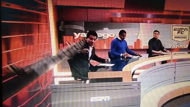 VIDEO: El espeluznante accidente en vivo durante un programa de ESPN