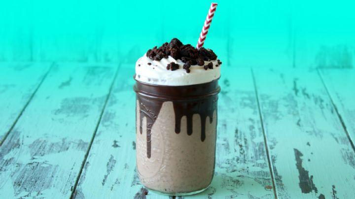 Este café de brownie frío te ayudará a despertar en las intensas tardes de calor