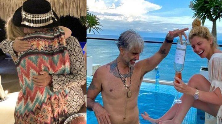 'El Potrillo' aparece desde su casa de la playa, junto a ex de Aristóteles Sandoval