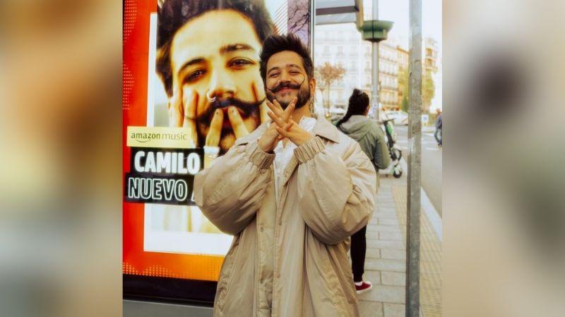 """""""Qué horrible"""": Camilo deja en shock a Instagram al mostrarse sin su barba y bigote"""