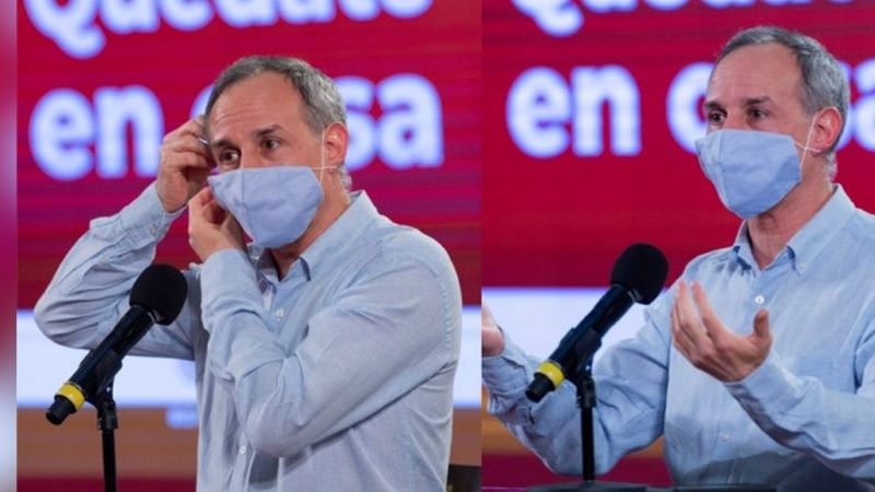 ¡Malas noticias para México! Tras recuperación 'favorable', López-Gatell sigue positivo a Covid-19