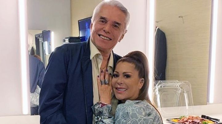 Alejandra Guzmán da positivo a Covid-19 tras visitar TV Azteca; Enrique Guzmán corre peligro