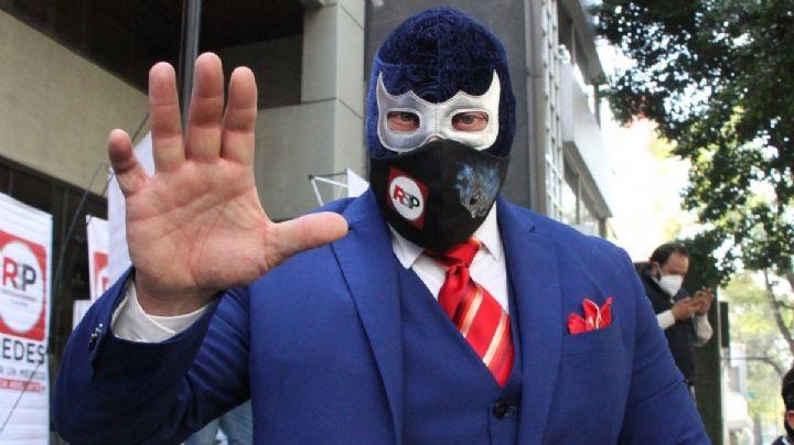 ¡Contra las cuerdas! Esposa de Blue Demon Jr. lo denuncia por amenazas de muerte