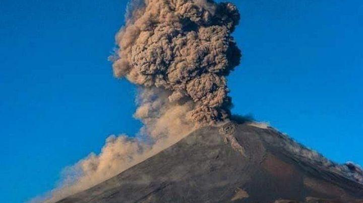 ¡Sigue enojado! Volcán Popocatépetl acumula 78 exhalaciones y 467 minutos de tremor