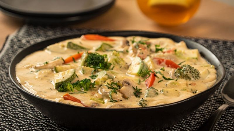 ¡Magníficas! Prueba estas verduras a la crema y dale un toque espectacular a tus comidas