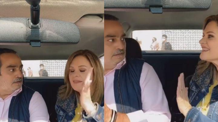 Érika Buenfil tiene tremenda pelea con querido actor de Televisa en el estacionamiento