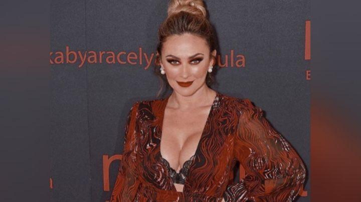 ¡Señora! A sus 46 años, Aracely Arámbula modela seductor vestido y deja sin aliento en Instagram