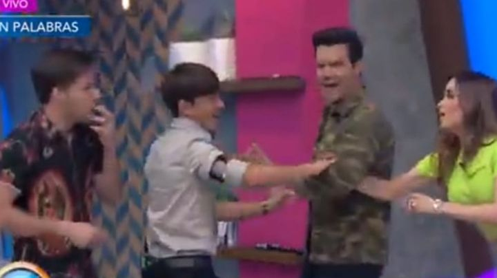 Tensión en TV Azteca: Conductor de 'Venga la Alegría' se burla de Brandon Peniche y enfurece en vivo
