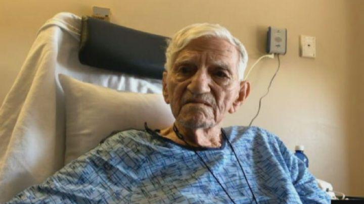 Hospitalizan a 'abuelito' tras recibir por error dos vacunas seguidas contra Covid-19