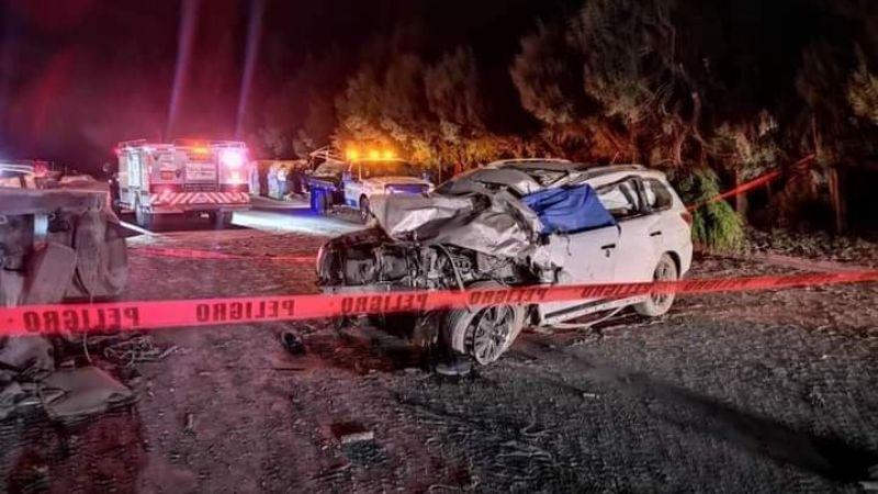 Tráiler provoca mortal carambola en la carretera Cuernavaca-México; hay dos fallecido