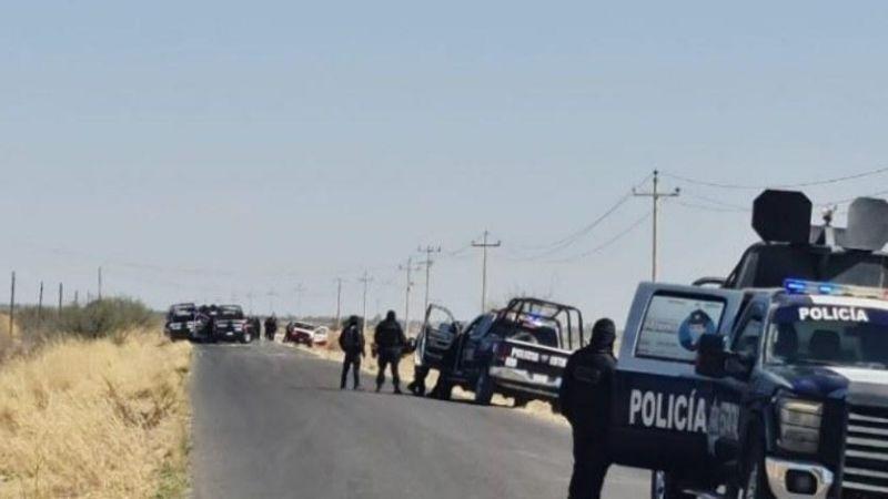 Sangrienta jornada: Mueren calcinados 4 elementos de la Policía Estatal en Zacatecas