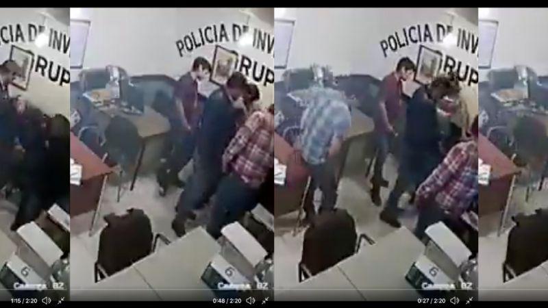 VIDEO: Brutalidad policial en Hidalgo; intentan asfixiar a detenido y supuestos policías ríen