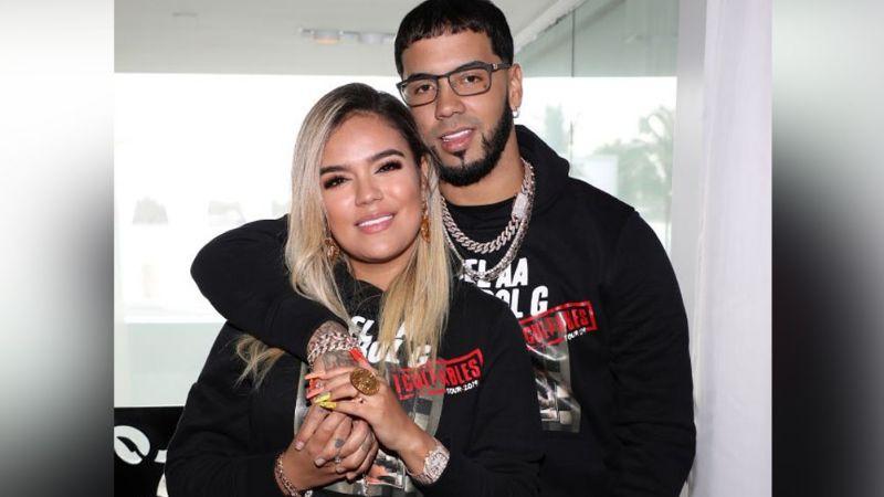Tras dos años de sólido noviazgo, Anuel AA y Karol G terminarían su relación