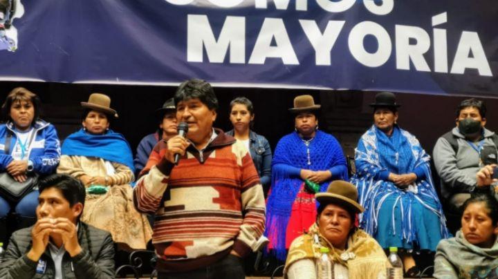 Evo Morales se pronuncia a favor del arresto de expresidenta de Bolivia; pide sanciones