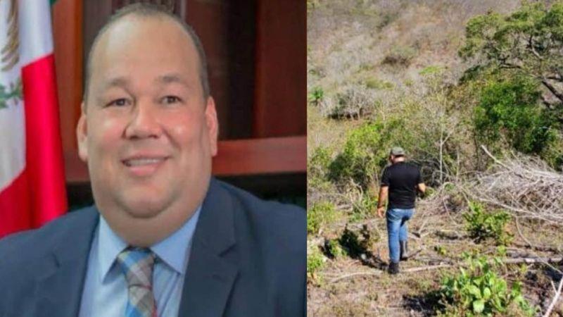 Filtran FOTOS del cadáver de alcalde desaparecido; lo hallan muerto en un barranco
