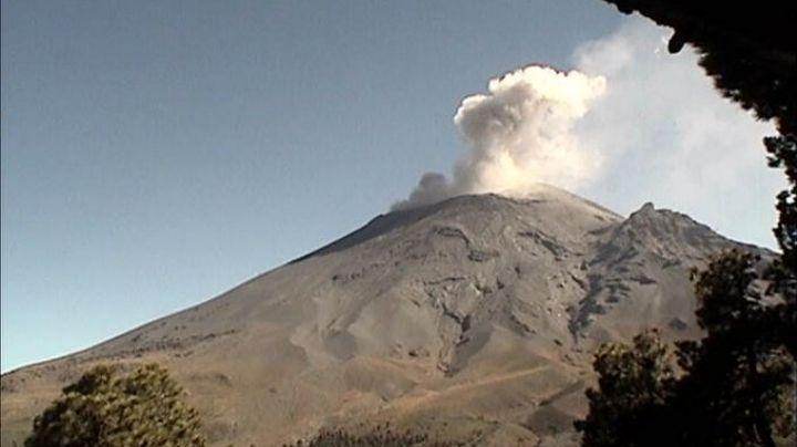 Volcán Popocatépetl se da un respiro y baja actividad; registra 35 exhalaciones este domingo