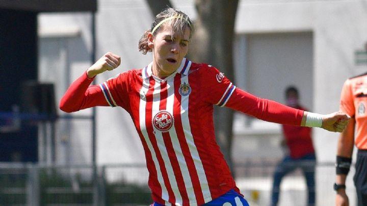 Alicia Cervantes se convierte en la nueva máxima goleadora de Chivas Femenil