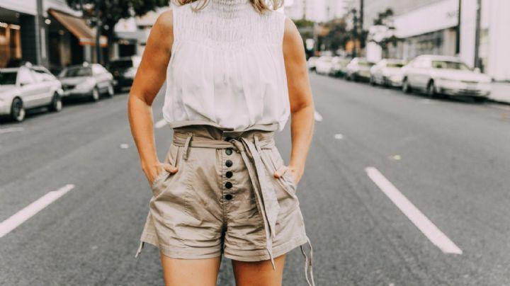 Shorts paperbag: La prenda de primavera que no querrás quitarte; ¡aprende a combinarla!