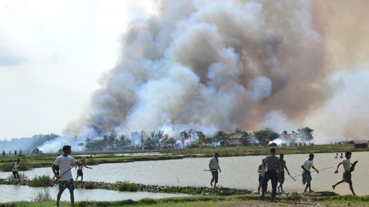 Tragedia en Birmania: Mueren 38 personas durante ataque a fábrica textil financiada por China