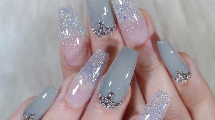 ¡Píntalas de gris! Lleva el color de la temporada en tus uñas con estos fantásticos diseños