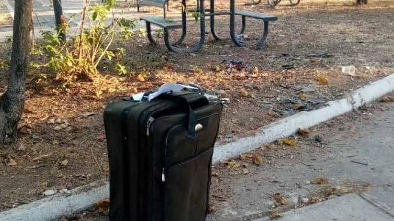 ¡Lamentable hallazgo! Encuentran el cadáver de una pequeña dentro de una maleta en Tijuana