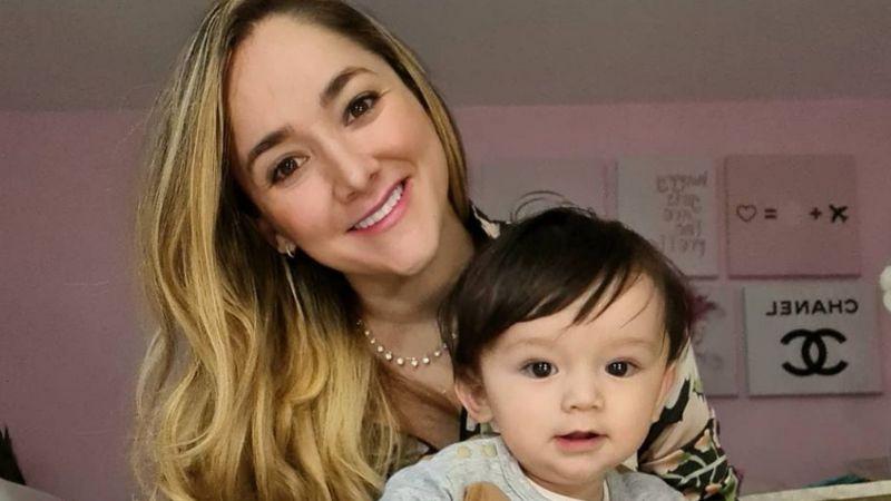 Sherlyn, actriz de Televisa, se luce en coqueto bañador a 10 meses de haber dado a luz