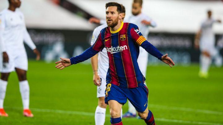 Noche de fiesta para Messi y el Barcelona, que le pisa los talones al Atlético de Madrid