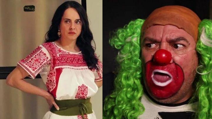 Tunden a actriz de Televisa por defender a 'Brozo' tras comentarios machistas en Twitter